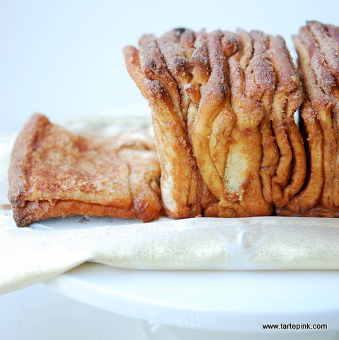 Cinnamon Sugar Pull-Apart Bread Recipe — Dishmaps